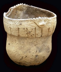 Pot from the Washington Boro site. Photo Courtesy State Musem of Pennsylvania.