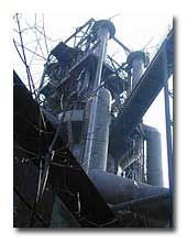 Contemporary view of Carrie Furnaces site. Source: ROSNHA