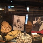 Exhibit on Earl Schaffer - First AT thru-hiker Courtesy of the Appalachian Trail Museum