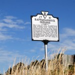 Historic marker Courtesy: St. Mary's College of Maryland