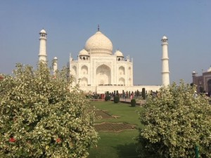Taj Mahal  UNESCO World Heritage Site Agra India