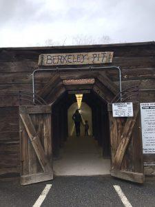 Vistors walking to the Berkeley Pit.