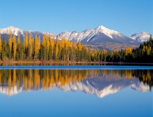 Lake Marshall and Swan Range near Seeley Lake, MT