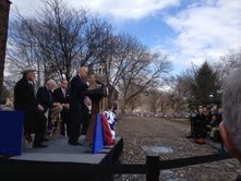 Vice President Biden dedicates a new National Monument in his State
