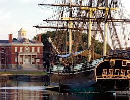 The sailing ship Friendship at Salem Maritime National Historic Site. Credit: National Park Service