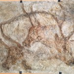 Reproduction of a cave painting in the village of Les Eyries-de-Tayac