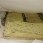 Documents Recovered from the Bluebird Inn Courtesy: Lorin Brace