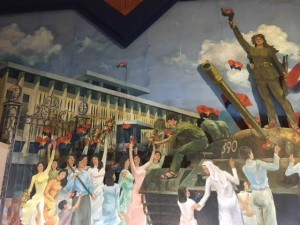 Revolutionary Mural in the Ho Chi Minh City Museum